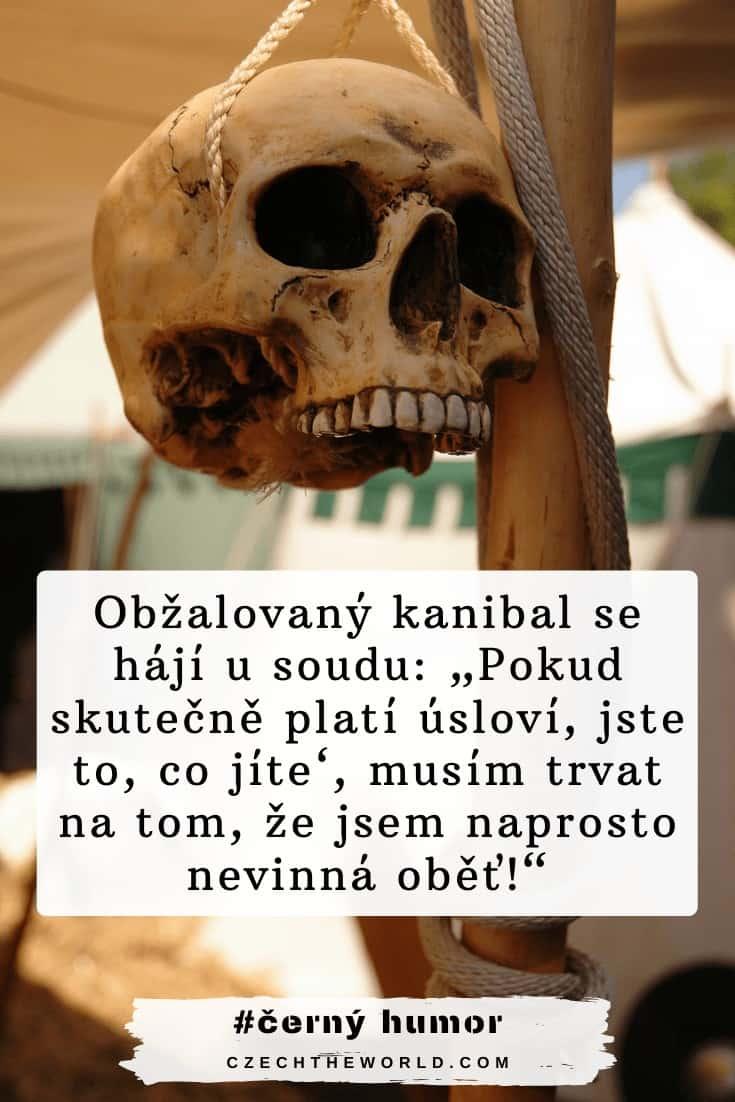 Černý humor a vtipy o kanibalech