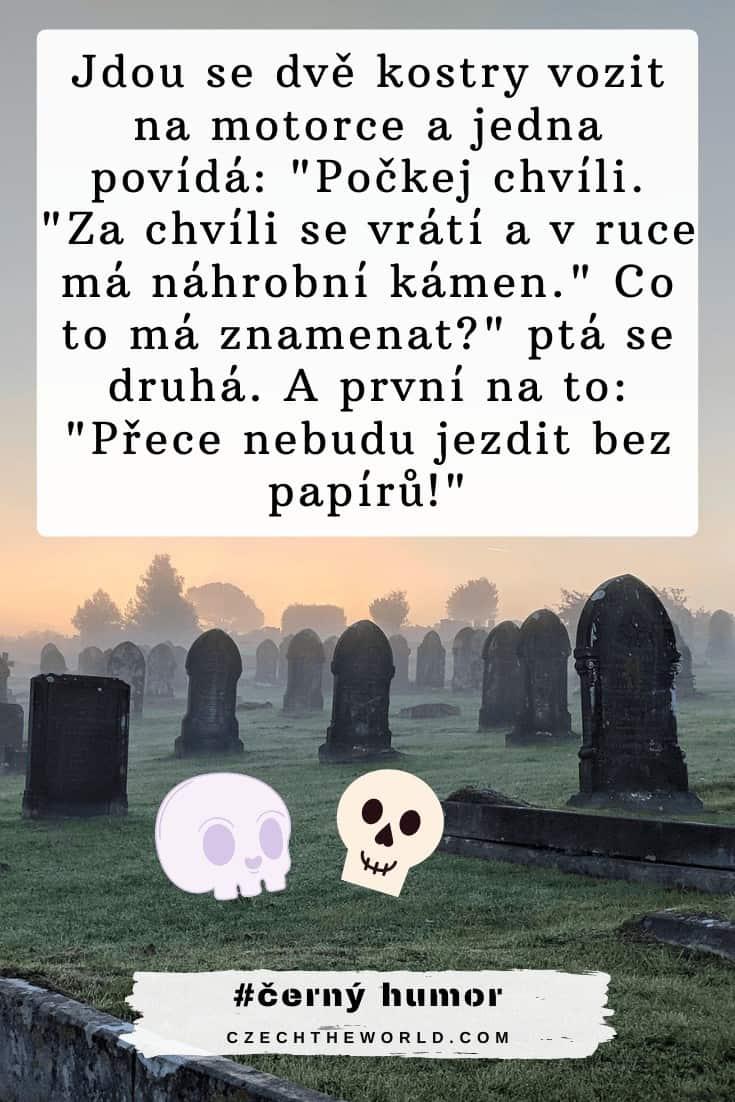 Černý humor ze hřbitova