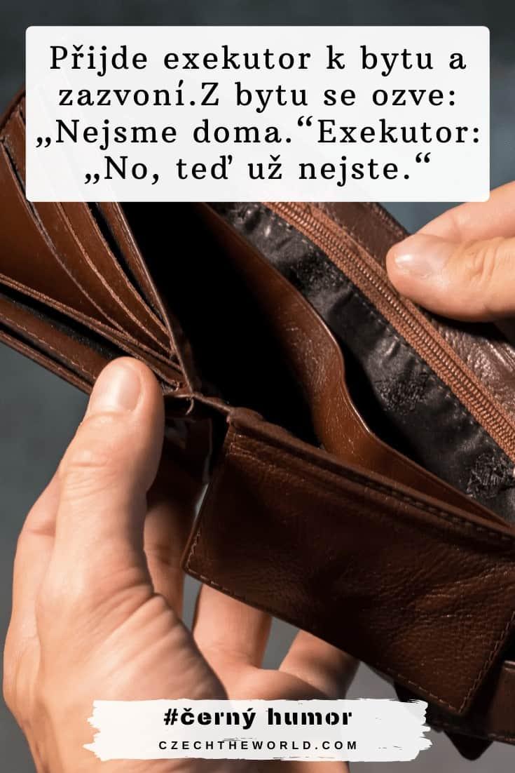 Peníze a černý humor