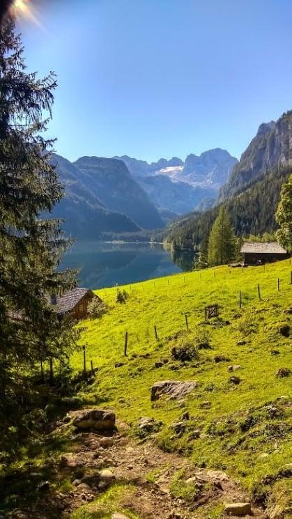 Jezero Gosausee Rakousko