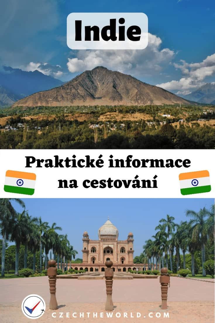Indie od A do Z: praktické informace na cestování 1
