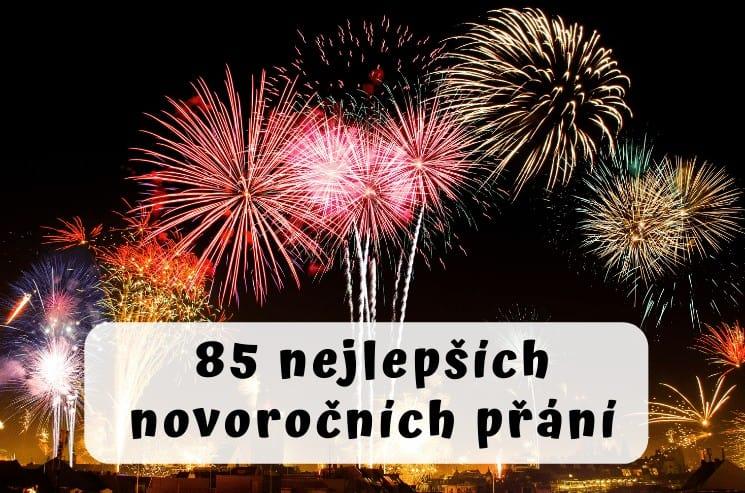 85 novoročních přání
