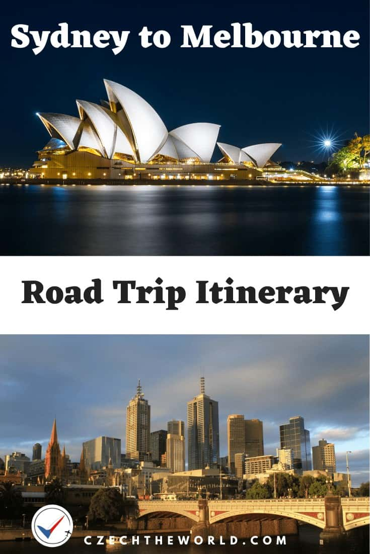 Sydney to Melbourne Road Trip Itinerary (1)