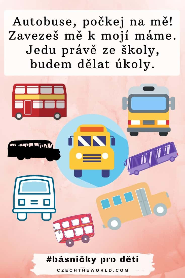Básničky pro děti - autobus