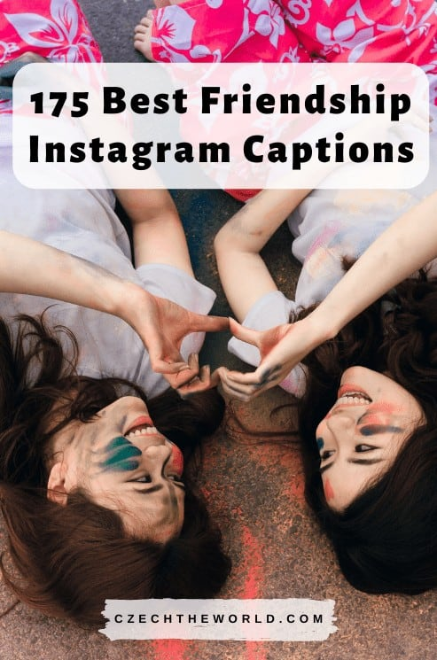 Best Friendship Instagram Captions