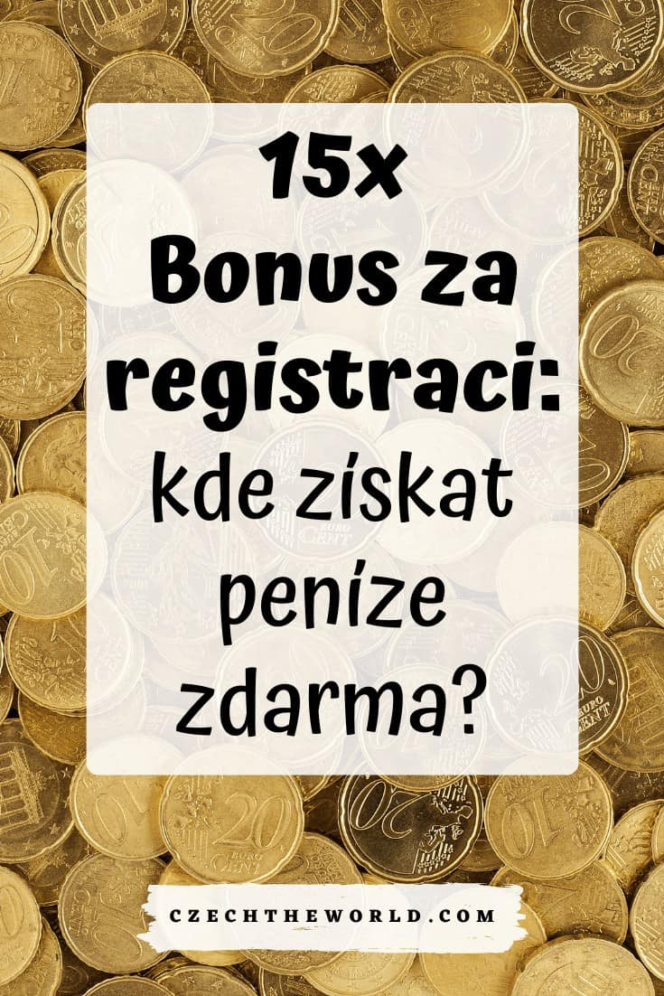 Bonus za registraci (1)