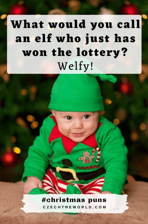Elf Christmas Puns