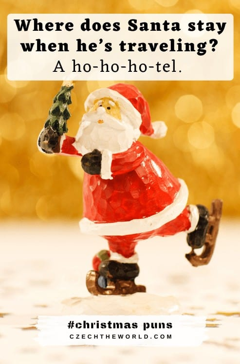 Santa Christmas Puns
