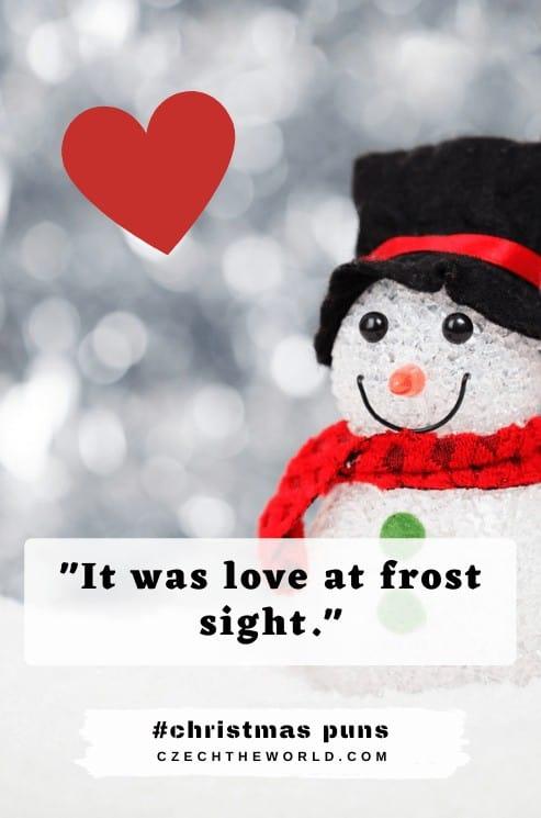 Snow Christmas Puns