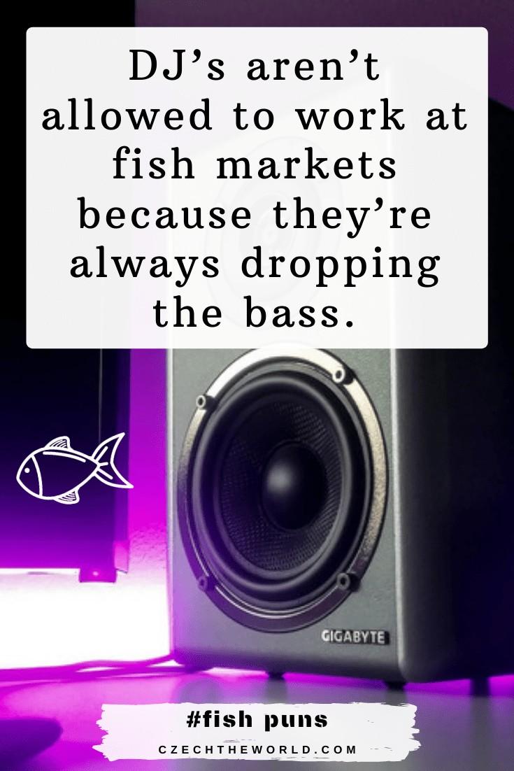 Bass Fish Puns