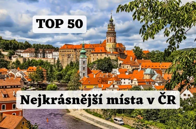 Nejkrásnější místa v ČR