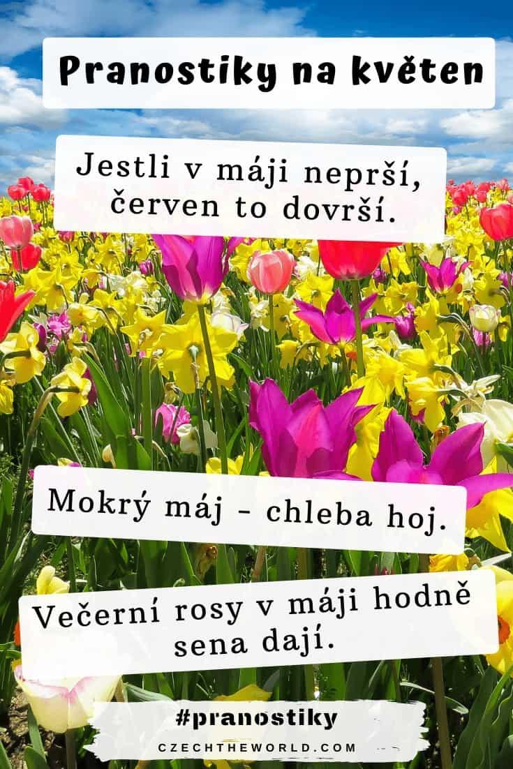 Pranostiky na květen