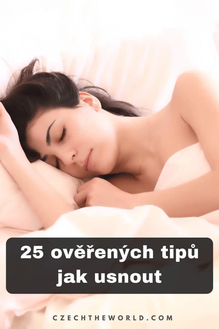 Jak usnout? 25 ověřených tipů, které fungují! 1