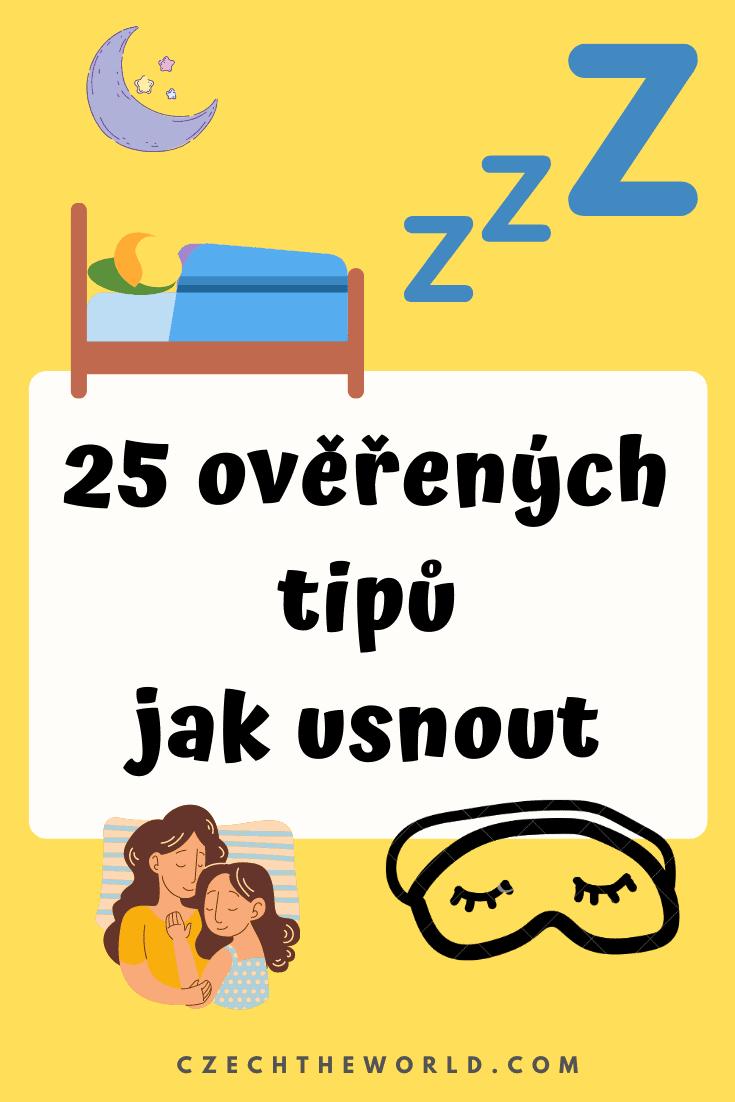 Jak usnout? 25 ověřených tipů, které fungují! 2