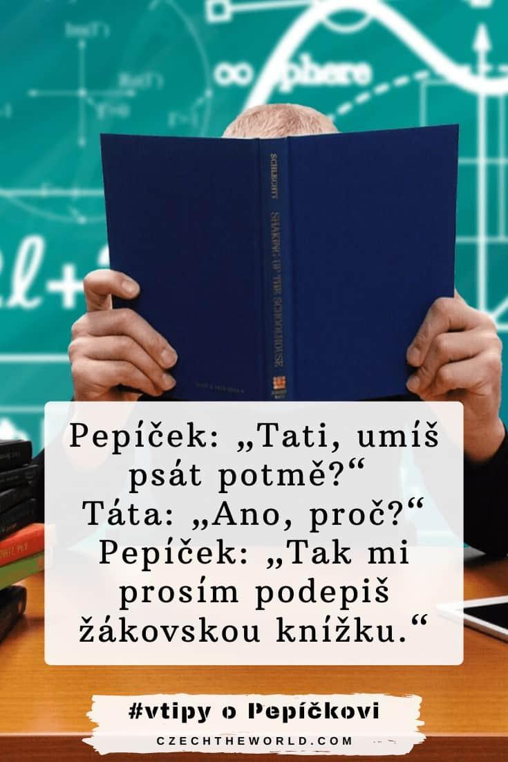Vtipy o Pepíčkovi - žákovská
