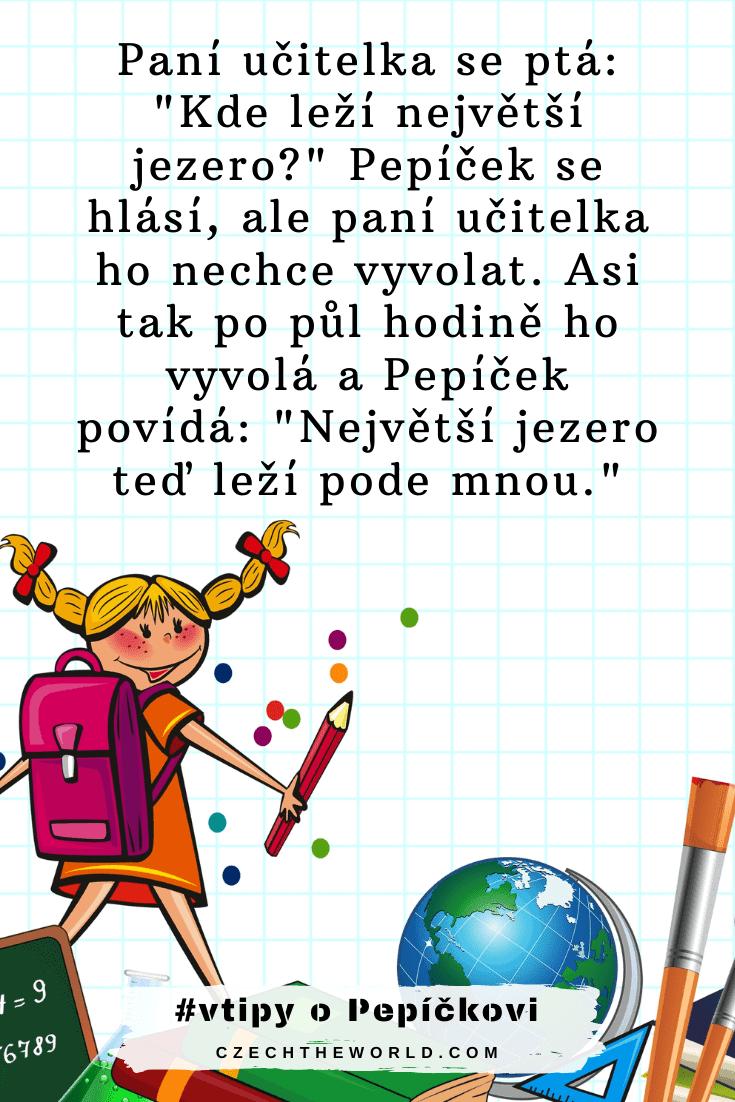 Vtipy o Pepíčkovi - ve škole