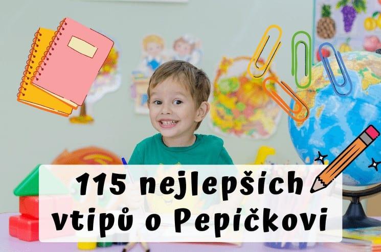Vtipy o Pepíčkovi - 115 vtipů, u kterých se zasmějete