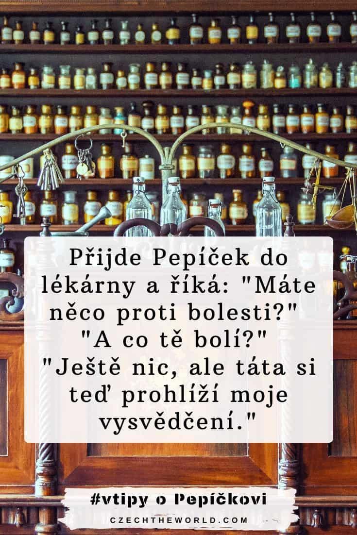 Vtipy o Pepíčkovi - v lékárně