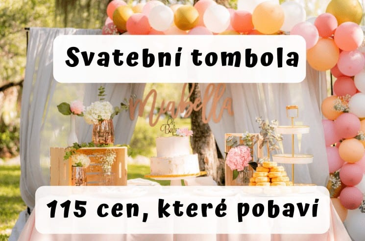 Svatební tombola - tipy na ceny, které pobaví