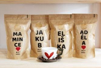 Káva jako dárek pro tchýni