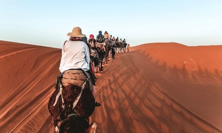 Sahara Desert of Merzouga, Morocco