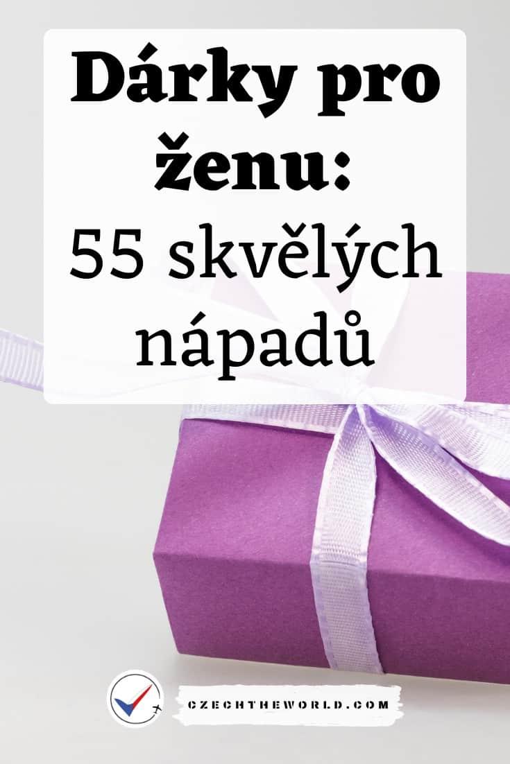 dárek pro ženu