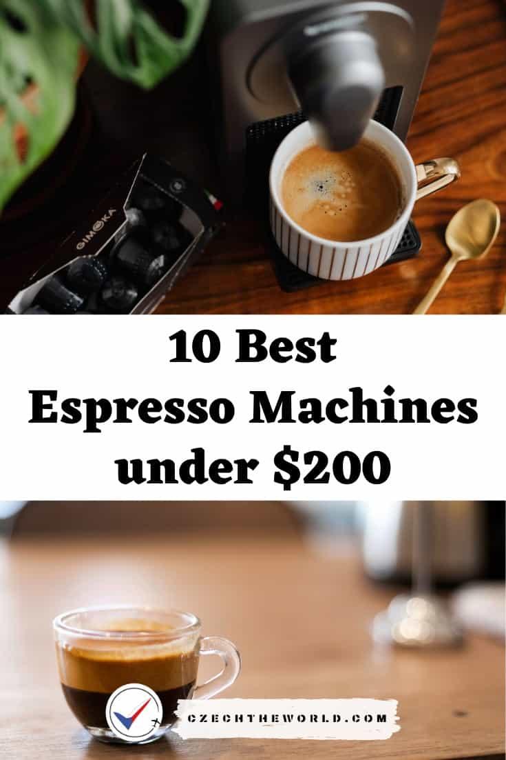 10 Best Espresso Machines under $200 (1)