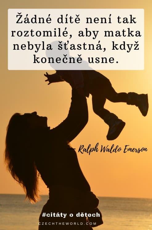 Citáty o dětech a matce