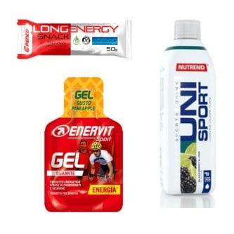 Co koupit cyklistovi? Energetické gely a tyčinky na závody.