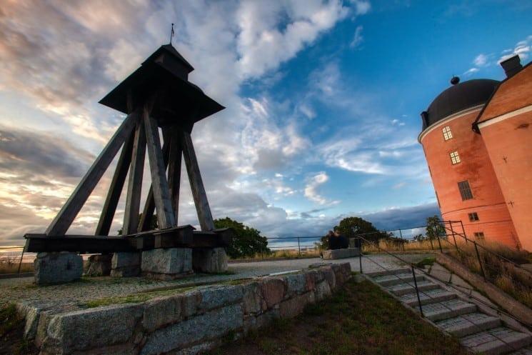 Gunilla Bell at Uppsala Castle
