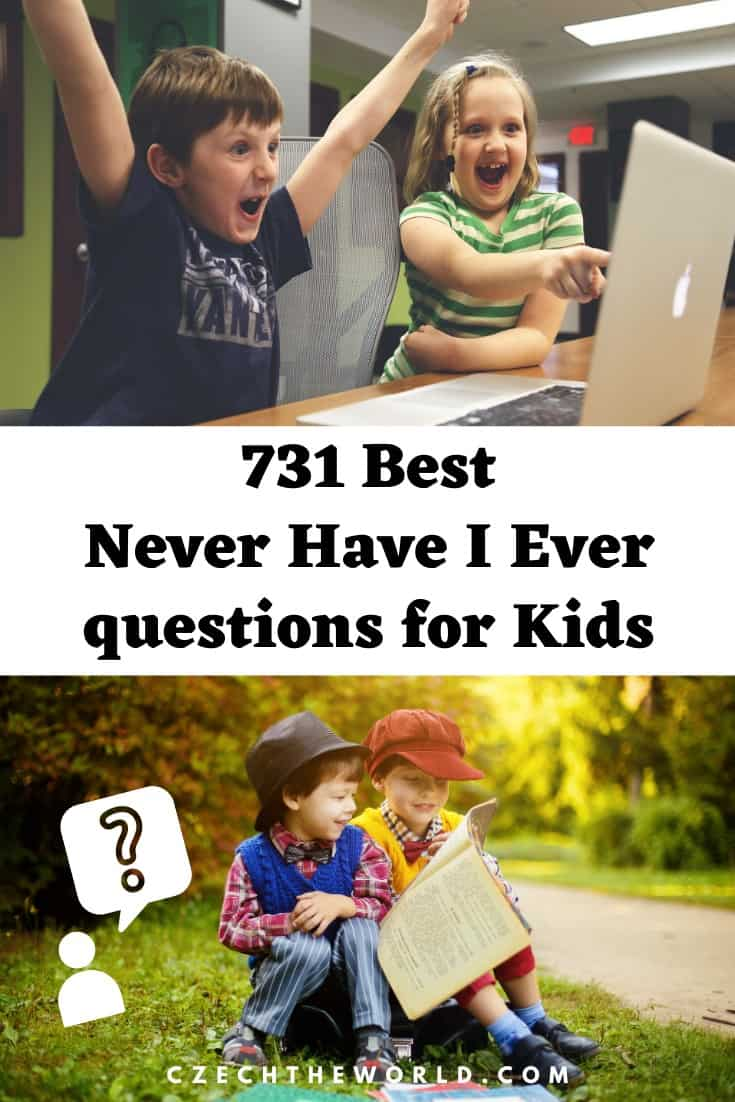 Never Have I Ever questions for Kids