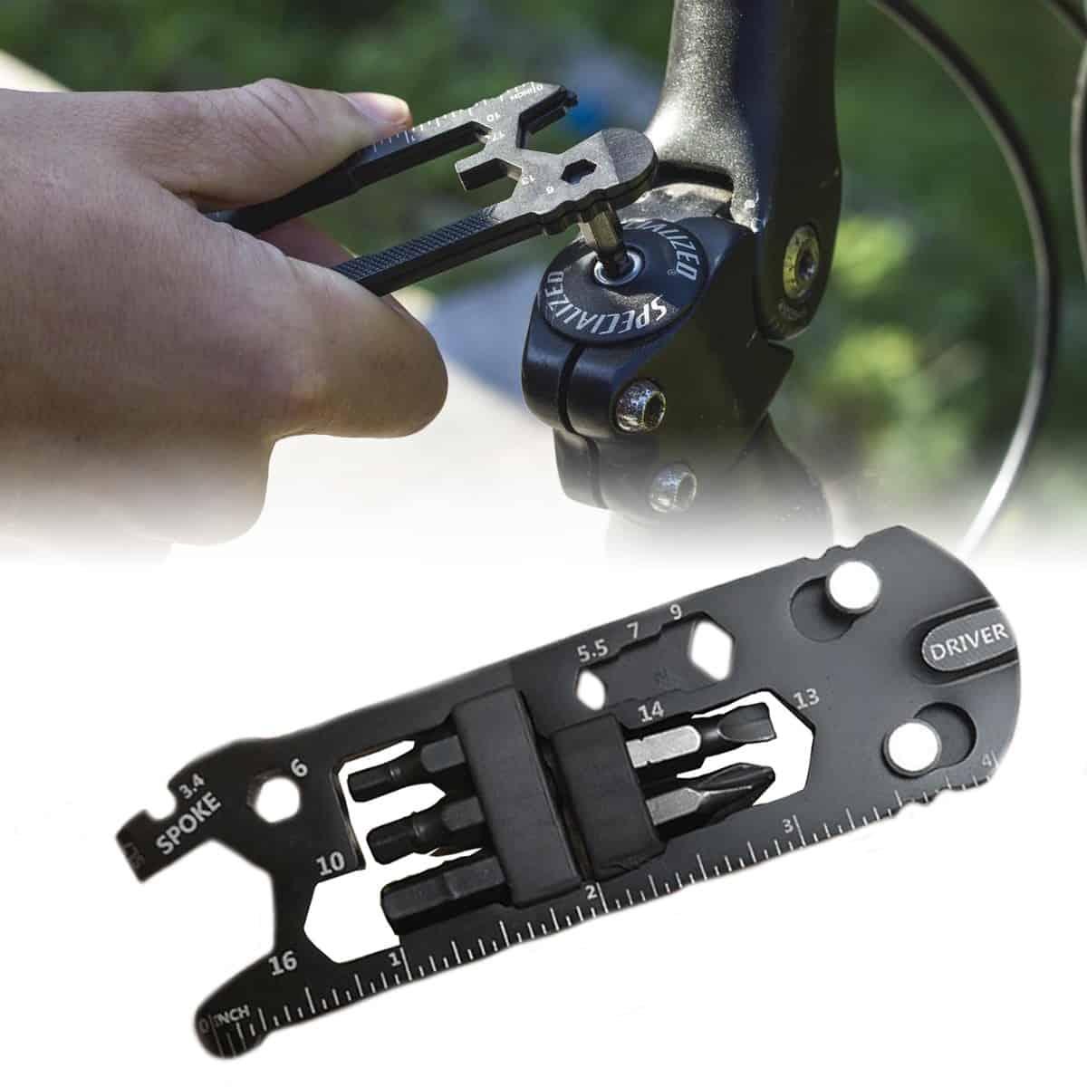 Praktický dárek pro cyklisty - multifunkční nástroj