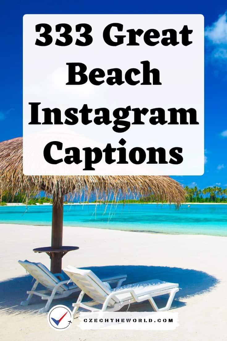 333 Instagram Captions for Beach Photos