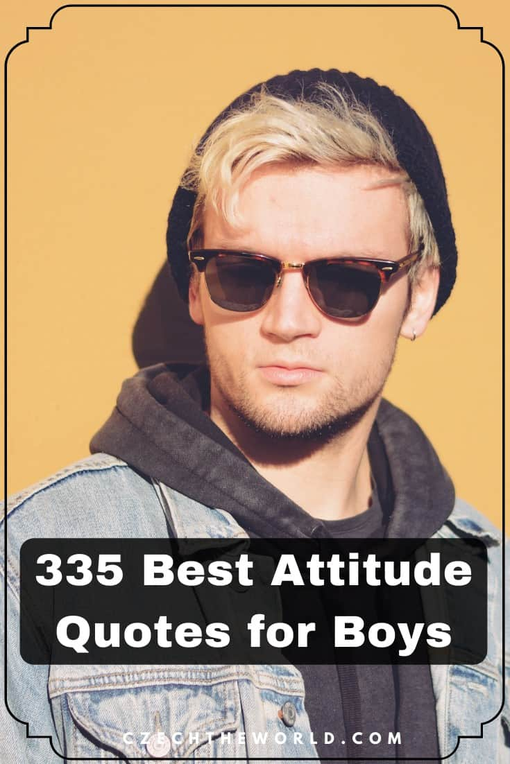 Best Attitude Status for Boys