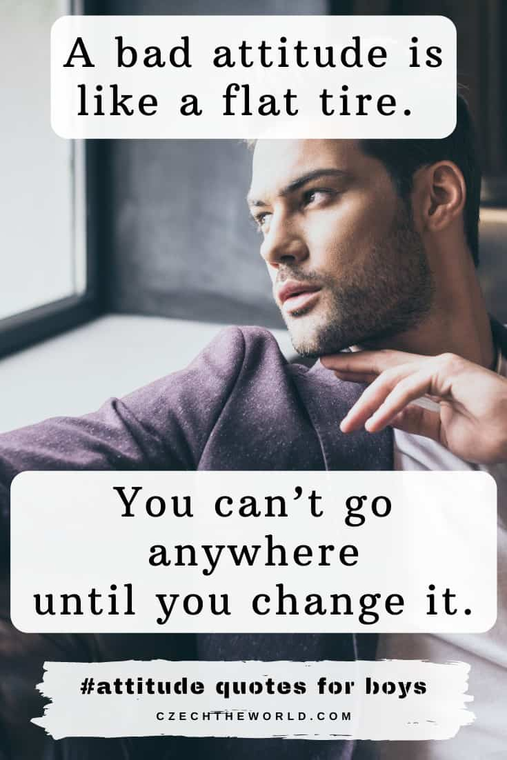Attitude Quotes for Guys