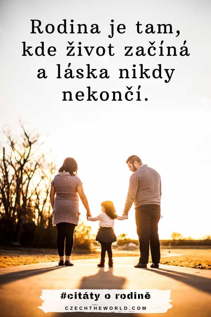 Krátké citáty o rodině