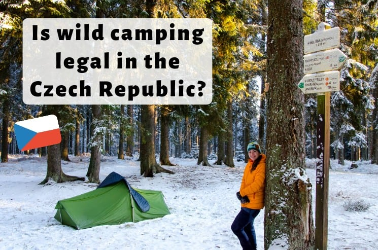 Is camping wild legal in the Czech Republic?