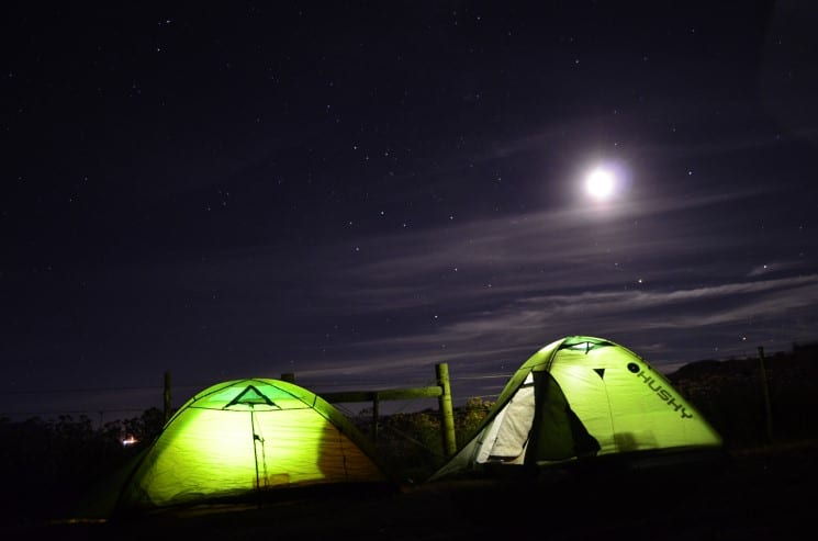 Is wild camping allowed in the Czech Republic?