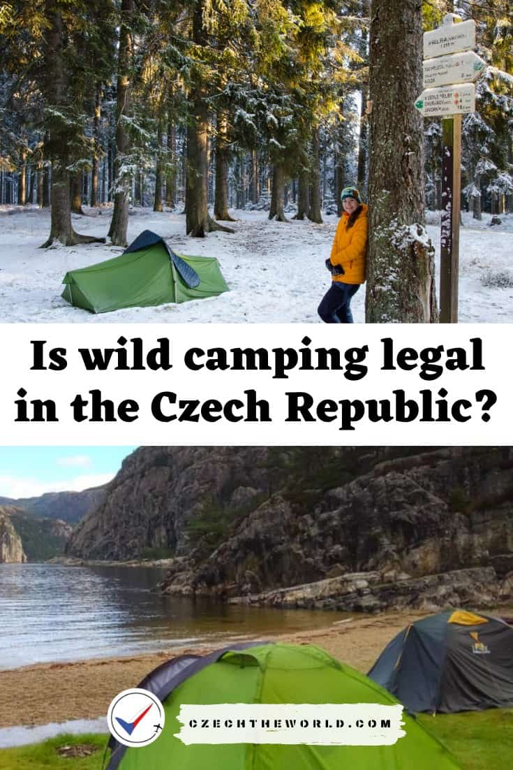 Is wild camping legal in the Czech Republic?