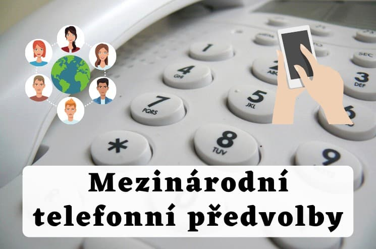 Mezinárodní telefonní předvolby operátorů
