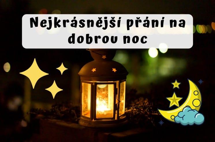 Nejkrásnější přání na dobrou noc