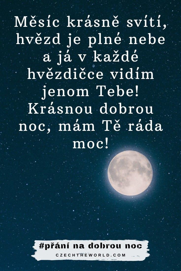 Přání na dobrou noc z lásky