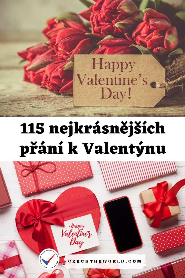 Valentýnská přání