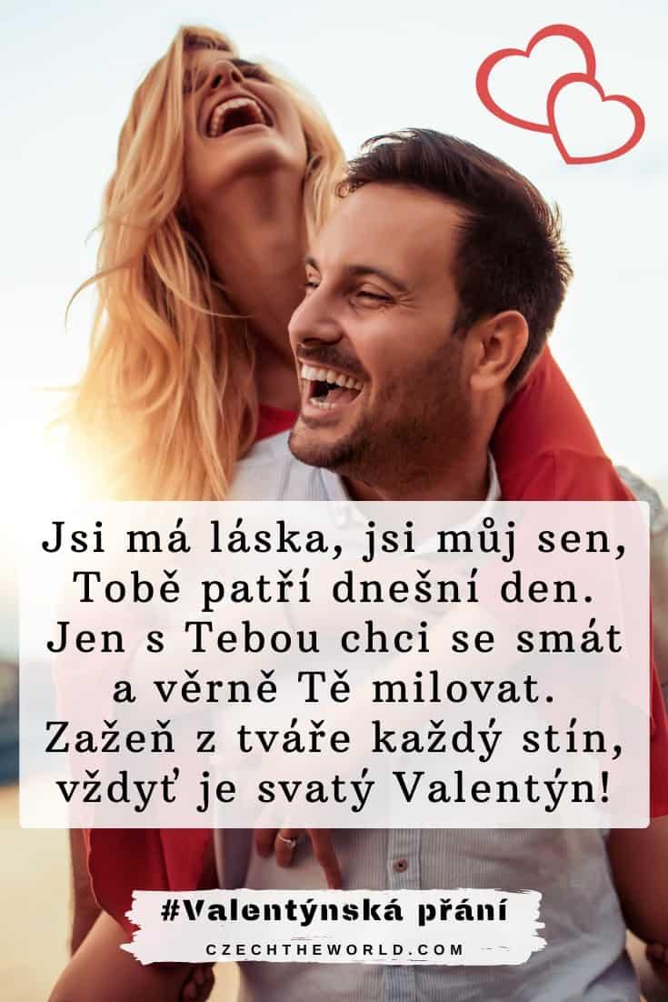 přání k Valentýnu