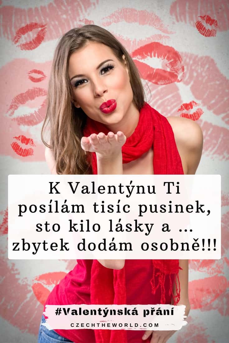 vtipné valentýnské přání