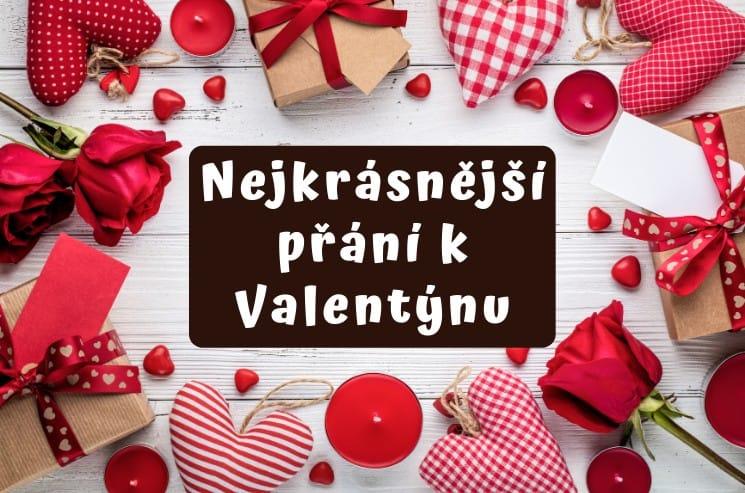 Nejkrásnější přání k Valentýnu