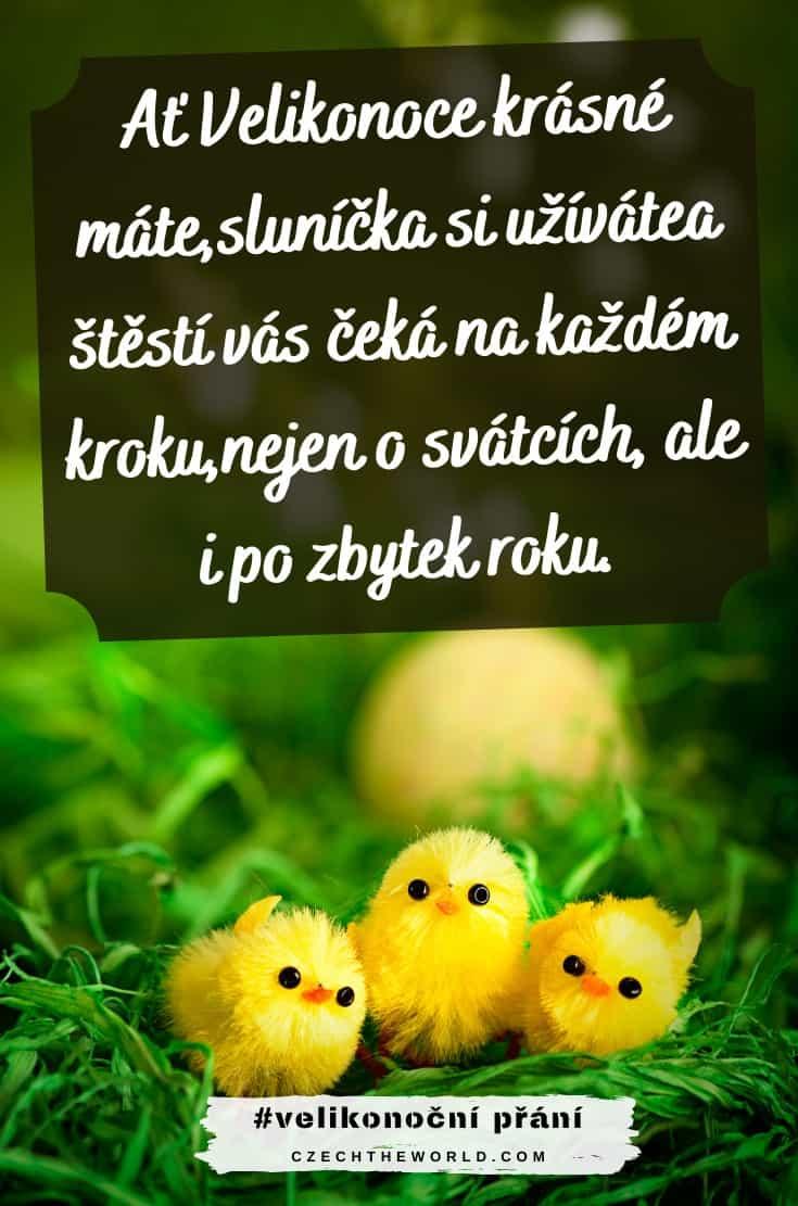 Velikonoční SMS přání