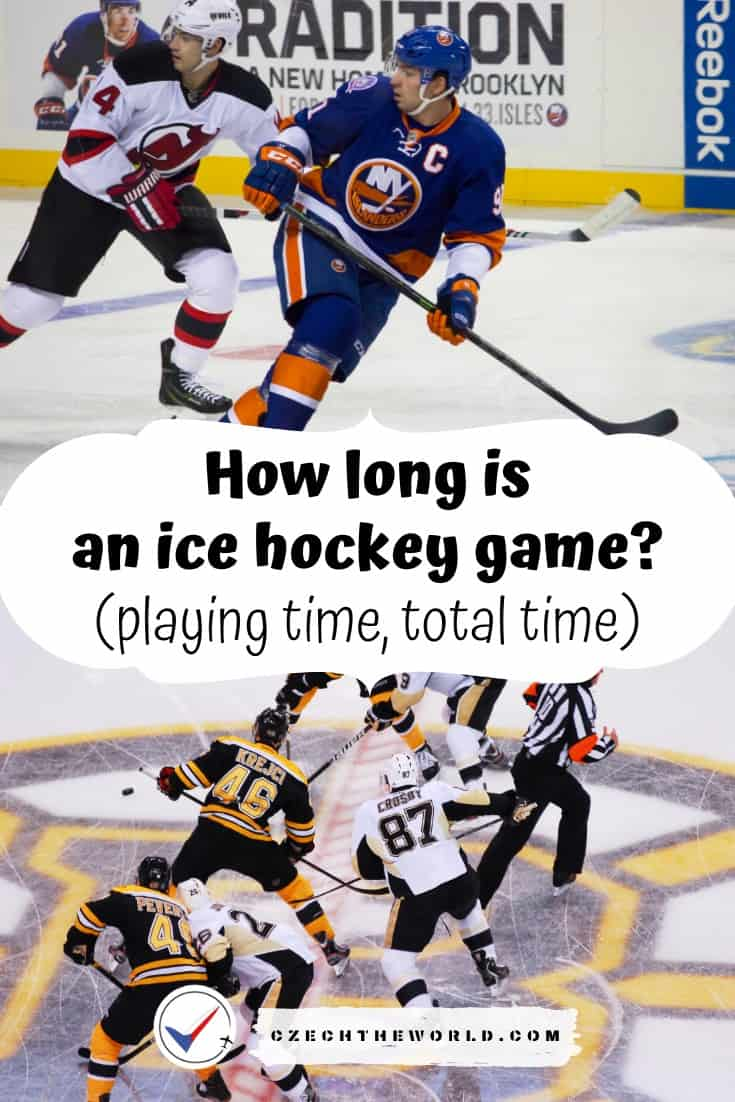 How long is an ice hockey game