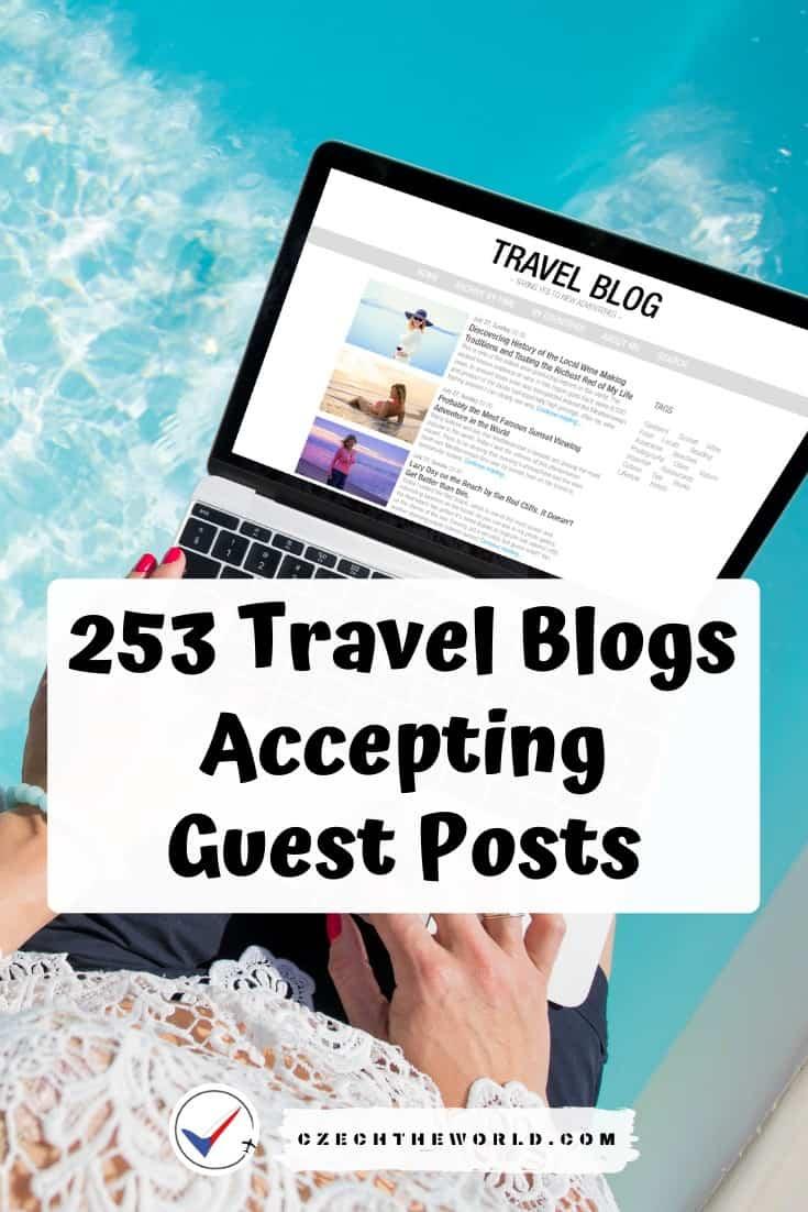 253 Travel Blogs That Accept Guest Posts