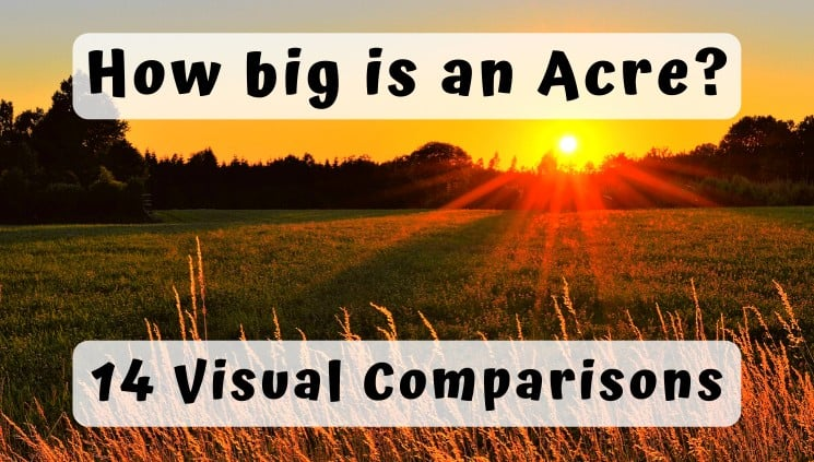 How big is an Acre - visual comparions